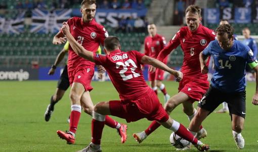 ЧМ-2022. Квалификация. Эстония — Беларусь: пятое поражение подряд и последнее место в группе